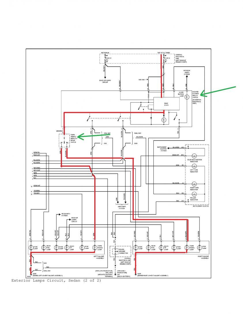 [WRG-3497] 1993 Volvo 850 Wiring Diagram