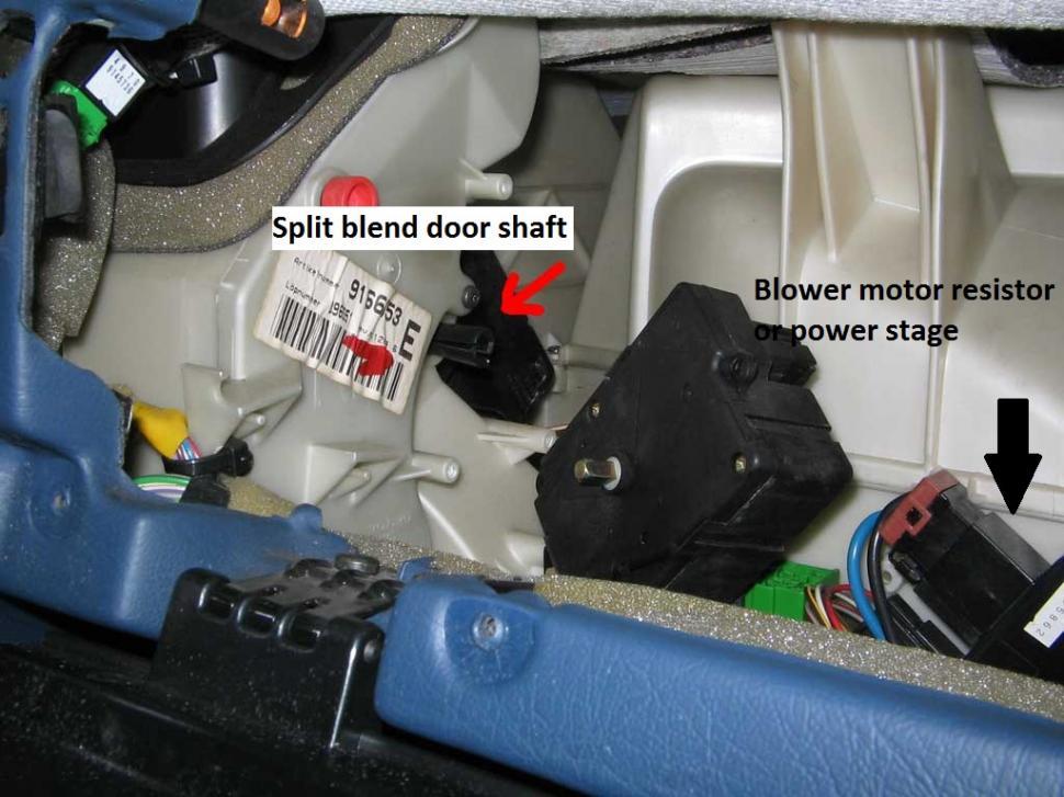2010 Volvo Xc60 Wiring Diagram Heater Ac Blend Door Spindle Broken Volvo Forums Volvo