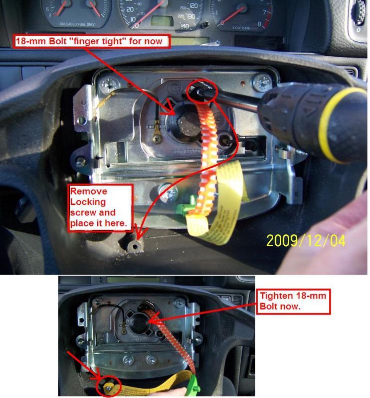 98 Jeep Wrangler Wiring Diagram Diy 1998 Volvo V70 Replacing Clockspring Airbag Horn