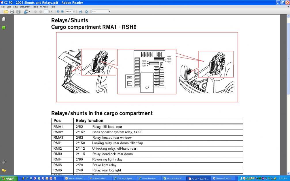 Rear Brake Shunt/Relay