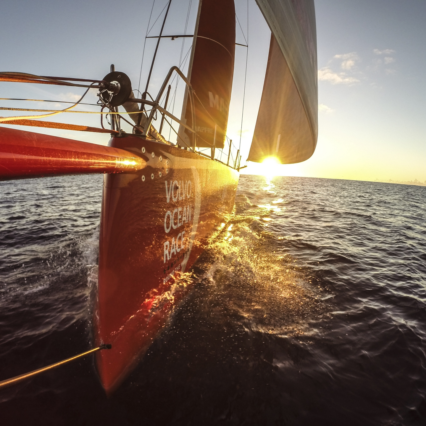 hight resolution of one design racing the volvo ocean 65