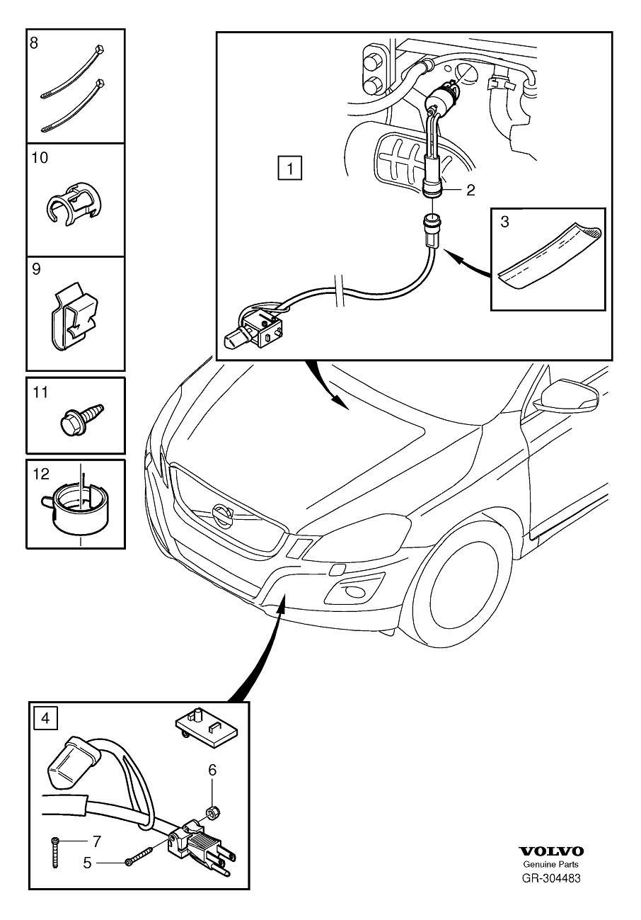 Volvo Auxiliary heater electrically operated