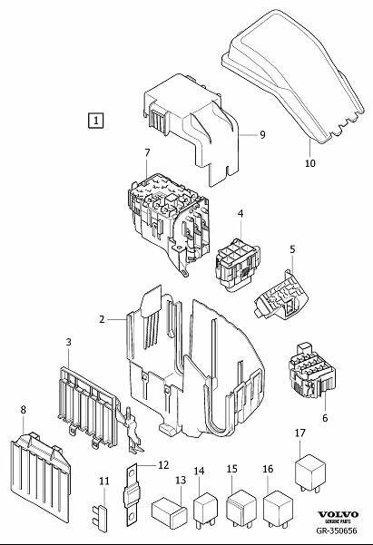 Volvo S40 Trunk Fuse Box. Volvo. Auto Fuse Box Diagram