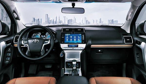 Interior 2022 Toyota Land Cruiser
