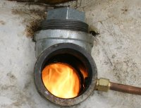 Diy Metal Casting Propane Waste Oil Furnace Burner