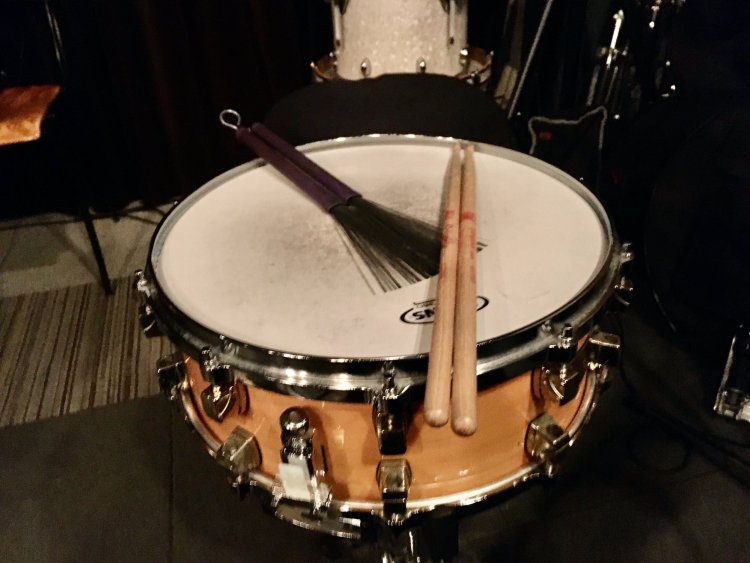 Goal setting helped Von Baron learn drumming faster.