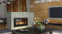 Regency HZ42STE Contemporary See-Thru Gas Fireplace ...