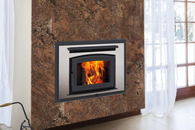 High Efficiency Zero Clearance Wood Fireplaces  Vonderhaar