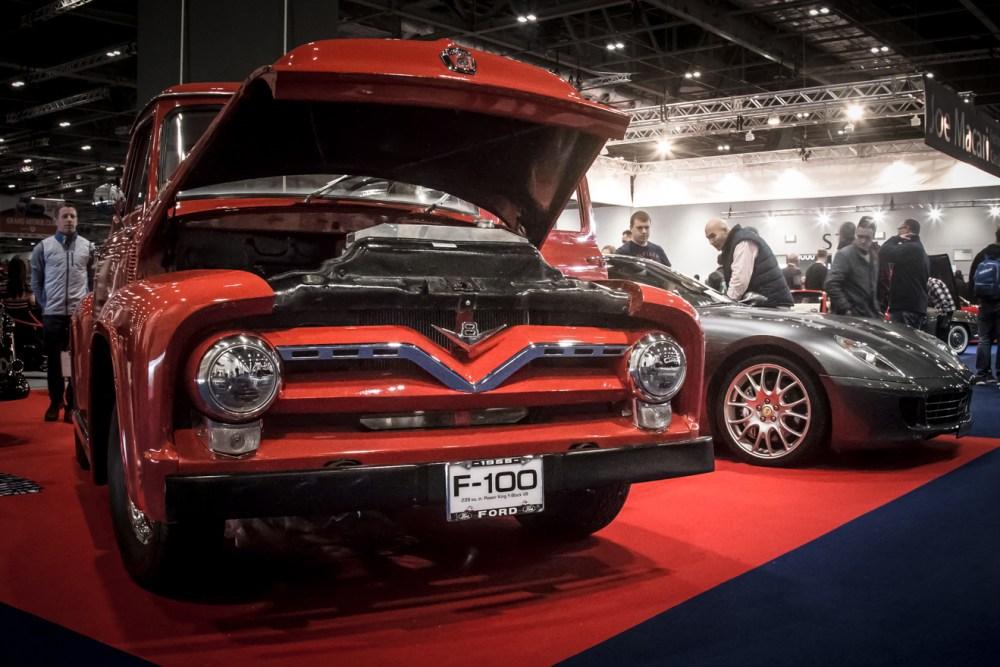 Ford F100 and Ferrari