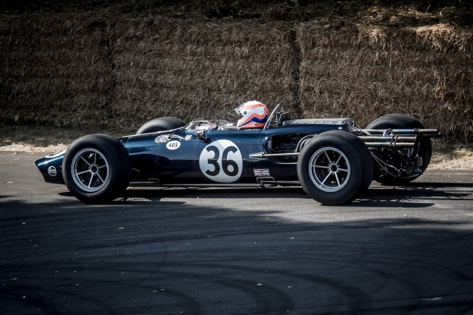Blue Cosworth powered Egal-Weslake T1G