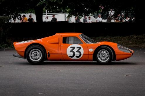 Orange Porsche 904 GTS