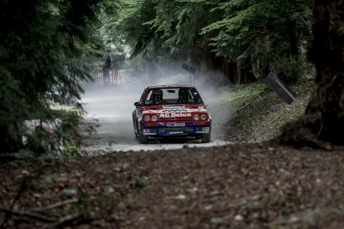 Opel Manta 400, rally stage warrior