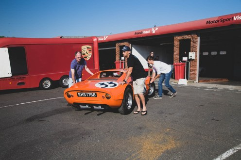 Orange Porsche 904 Carrera GTS