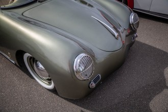 Porsche 356 Speedster replica was so smooth.