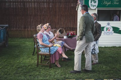 Tea is the word, Goodwood Revival.