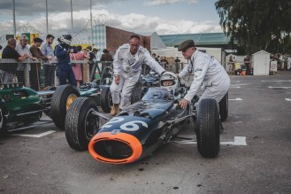 BRM P261, Goodwood Revival.