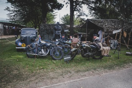 Vintage military motorcycles