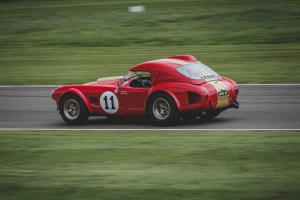 Red and gold AC Cobra
