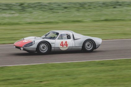 Porsche 904 in action, Goodwood Revival.