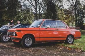 Orange 2002 BMW