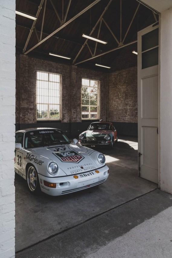 Two Porsche 911's