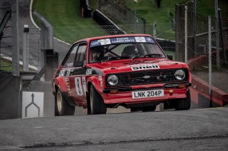 Red 1976 Ford Escort RS1800