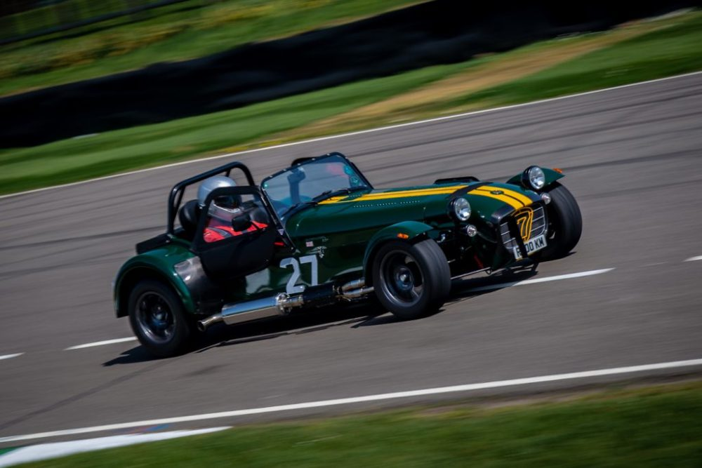 Green Caterham 7