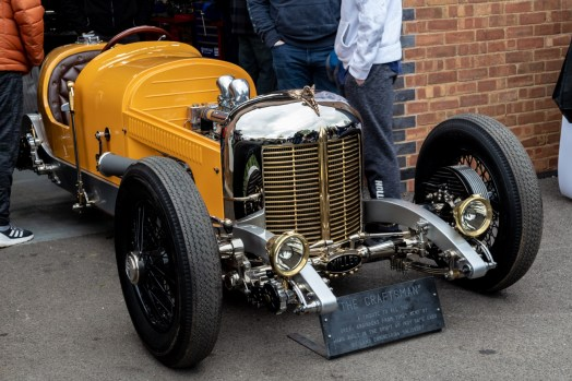 The 'Craftsman' custom built car
