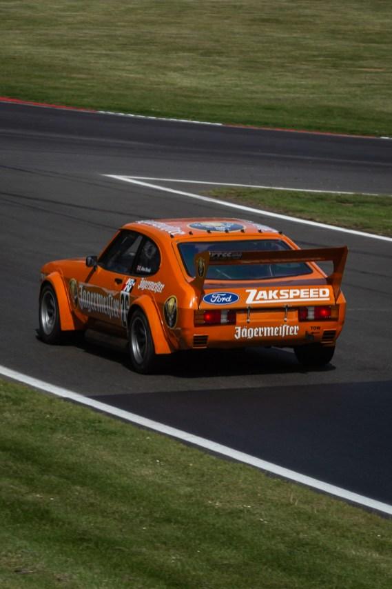Orange Zakspeed Ford Capri