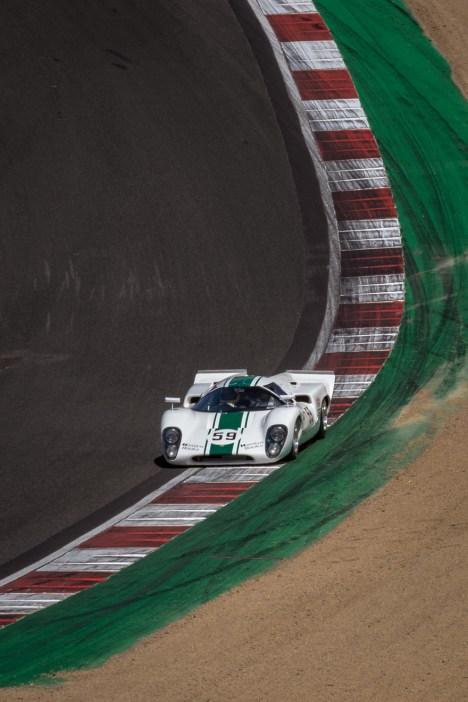 White Lola T70 race car