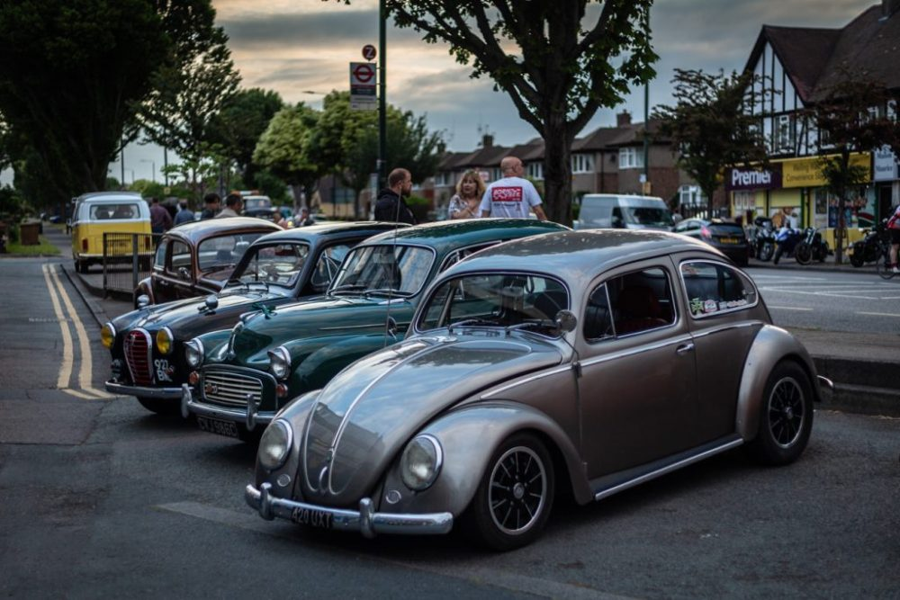 Classic cars at Krazy Horse London lates