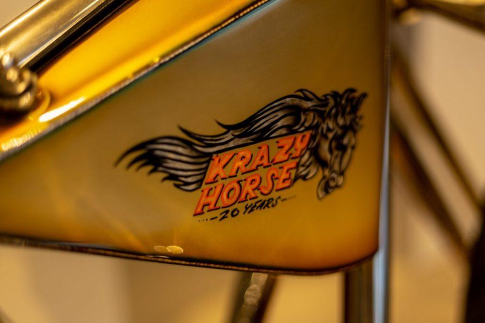 Custom Krazy Horse motorcycle