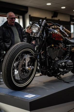 Vintage looking Harley Davidson