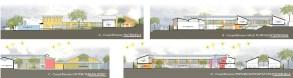 """""""Les Charmilles"""" - Ecole D - Lycée Francais Construction d'une école primaire à Tananarive - Quartier d'Ivandry"""
