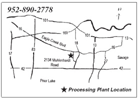 Prior Lake Processing Plant