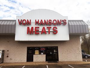 Eagan, MN Duckwood Drive, Von Hanson's Meats