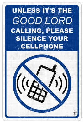 good lord calling sign