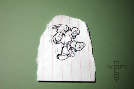 kungfu kitty sketch