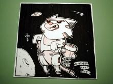 Robo-Rocket Cat