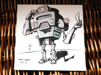 robot meter maid