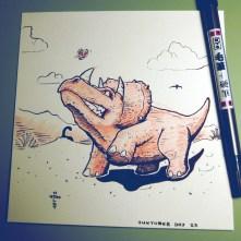 Triceratops Rage