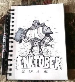 cyborg tinman (inktober)