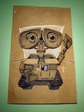 Wall-E (inktober)