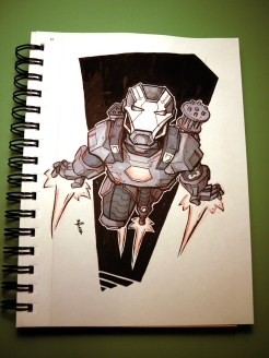 war machine (inktober)