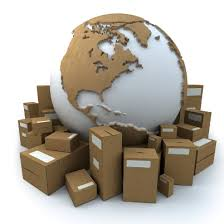 moving boxes w globe