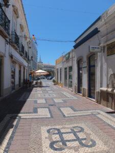 kleine Einkaufsgassen Faro