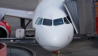 Flughafen Tegel: Blick von der Besucherterrasse