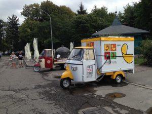 mobiler Eisstand