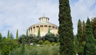 Kostenloser Aussichtspunkt: Santuario Madonna di Lourdes