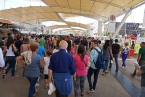 EXPO 2015 Eingangsbereich